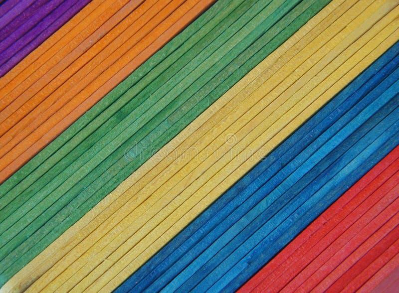 Palillos del Popsicle fotos de archivo libres de regalías
