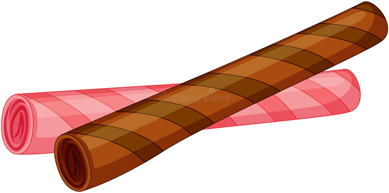 Palillos dulces libre illustration