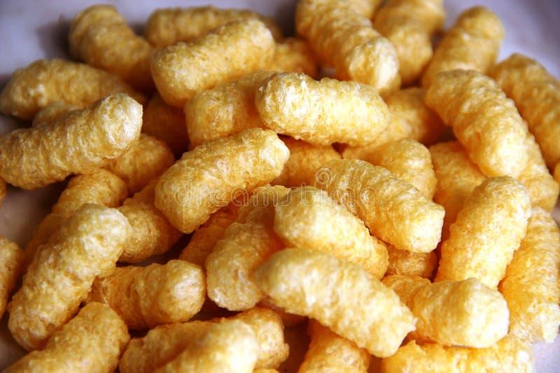 Palillos grandes del maíz sin el azúcar y el gluten concepto del alerg?nico de la comida, gluten libre foto de archivo