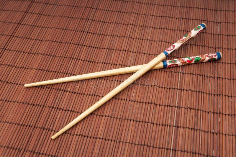 Palillos japoneses foto de archivo