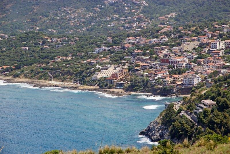 Palinuro, Italien lizenzfreies stockfoto