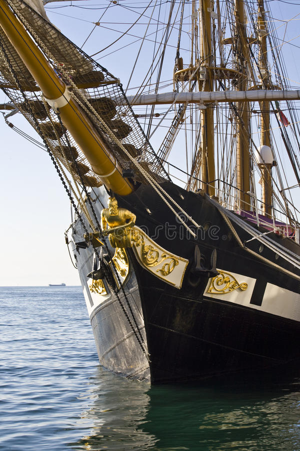 Download Palinuro, training ship stock photo. Image of keel, boat - 9462994