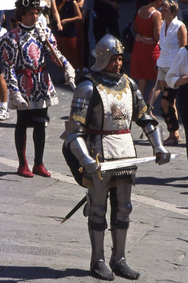 Palio di Siena - luglio 2003 fotografie stock libere da diritti