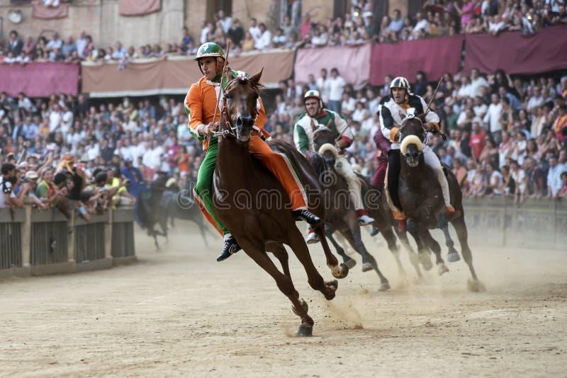 Paliodi Siena stock foto's