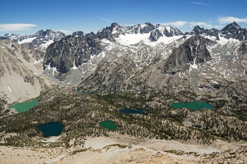 Palisade-Berge stockbild