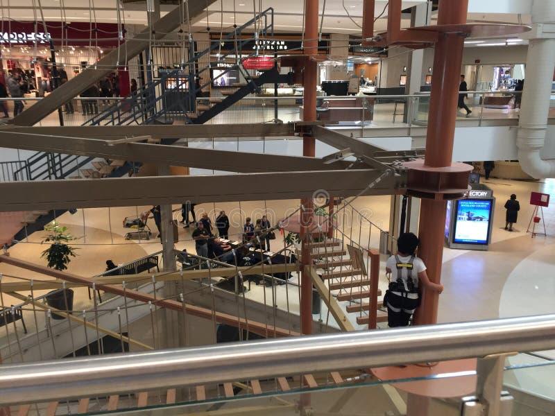 Palissades Skywalk d'intérieur central photographie stock