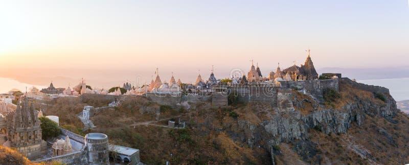 Palitana (Bhavnagar okręg), Gujarat, India zdjęcie royalty free
