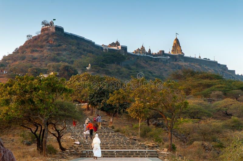 Palitana-Tempel lizenzfreie stockfotografie