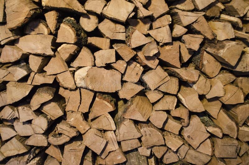 Paliwowy drewno zdjęcie royalty free