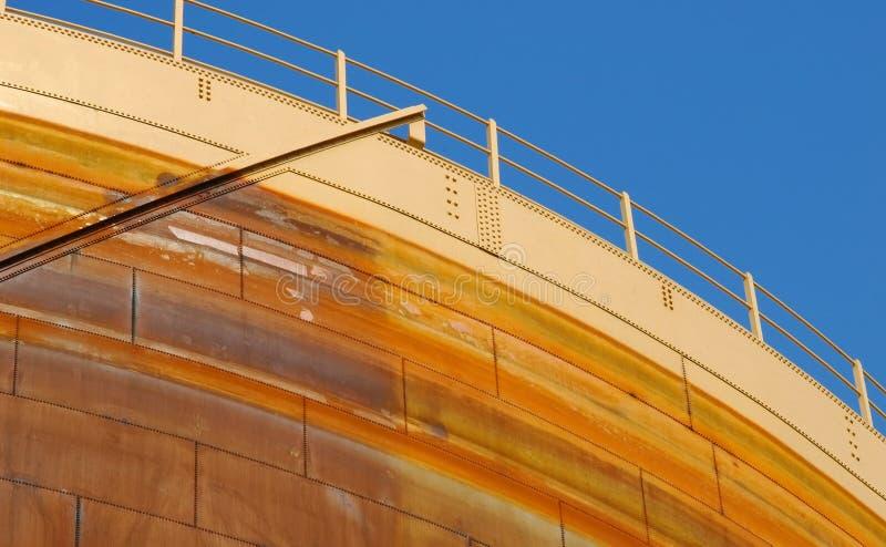 paliwowy składowy zbiornik obrazy stock