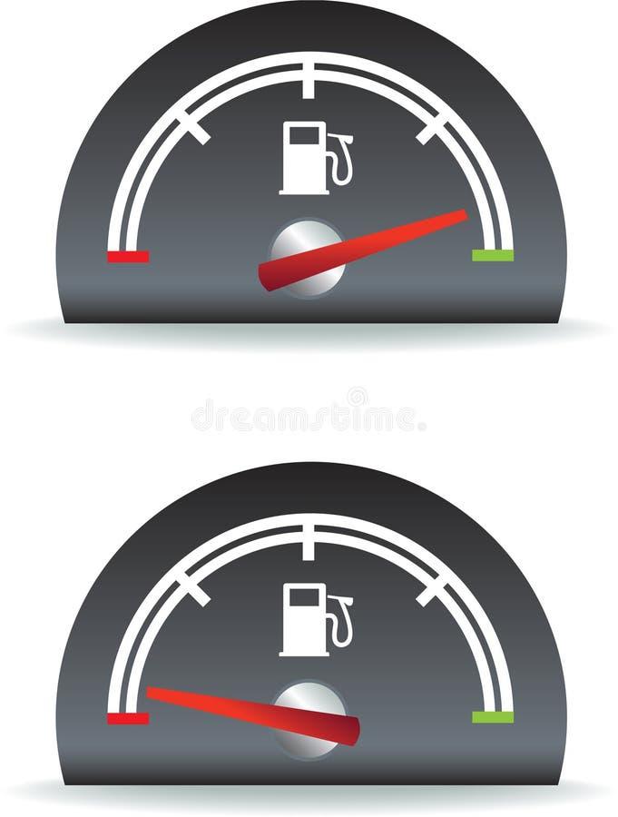 paliwowy użycie royalty ilustracja