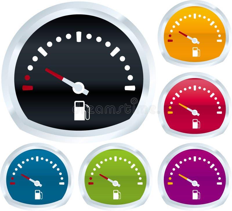 paliwowy wymiernik ilustracja wektor