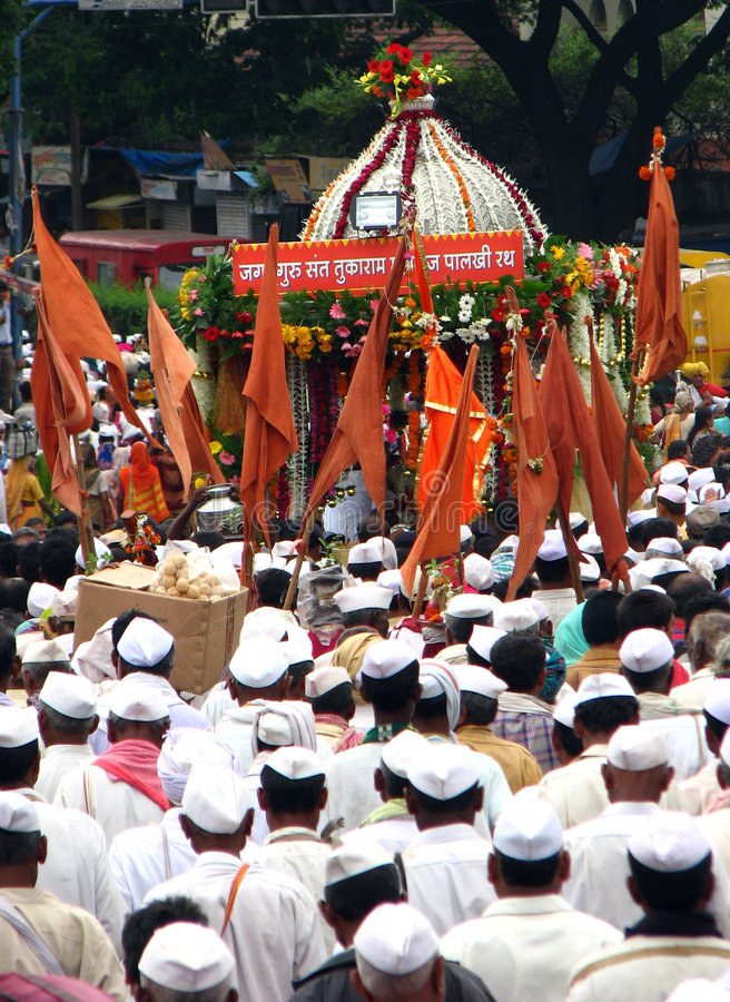 Download The Palkhi Chariot editorial photography. Image of asia - 2754877