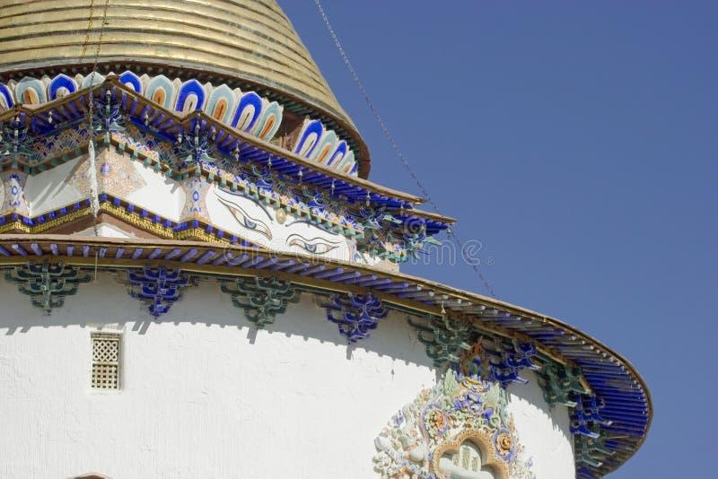 palkhor Тибет скита стоковая фотография rf