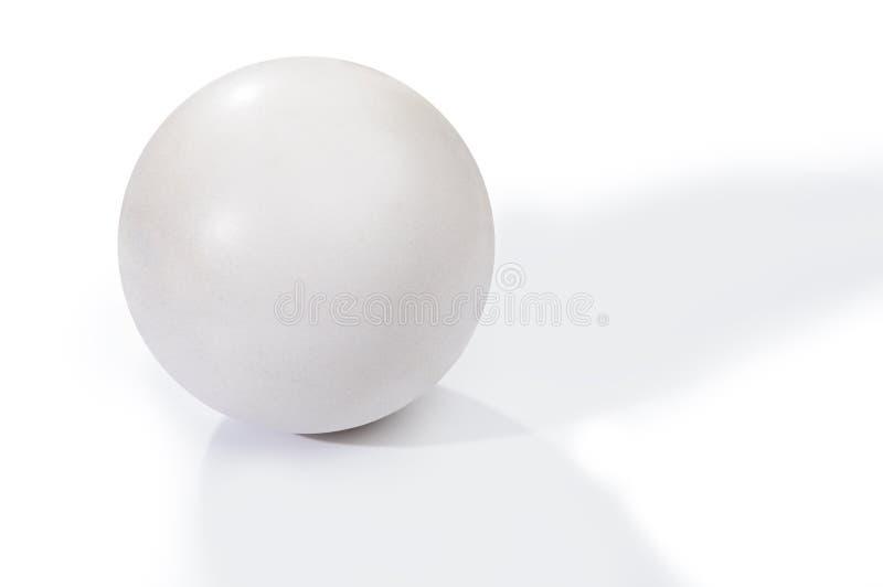 Palla bianca immagini stock