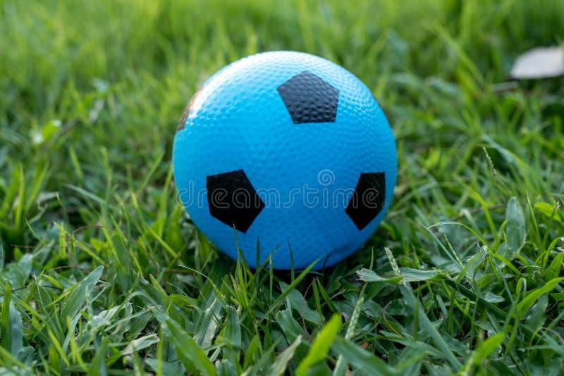 Palla blu fotografia stock libera da diritti