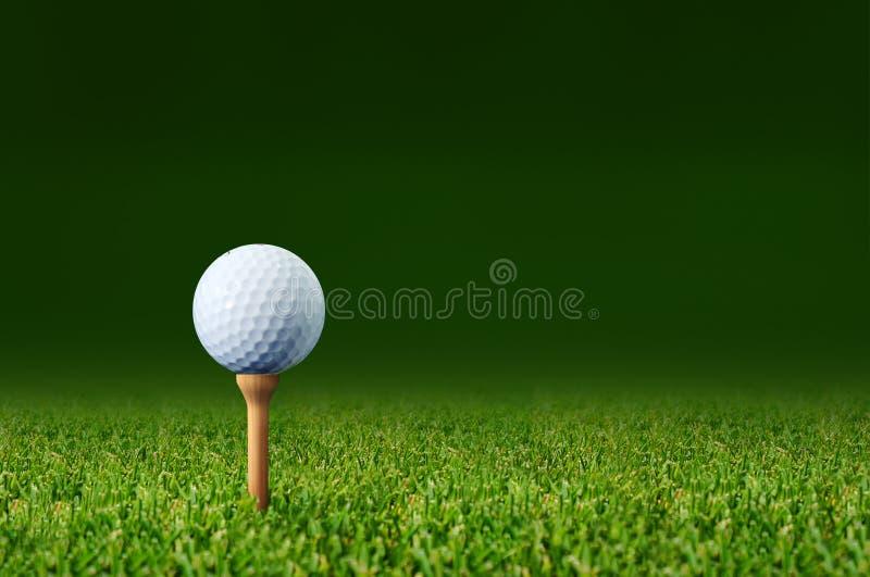 Palla da golf immagine stock
