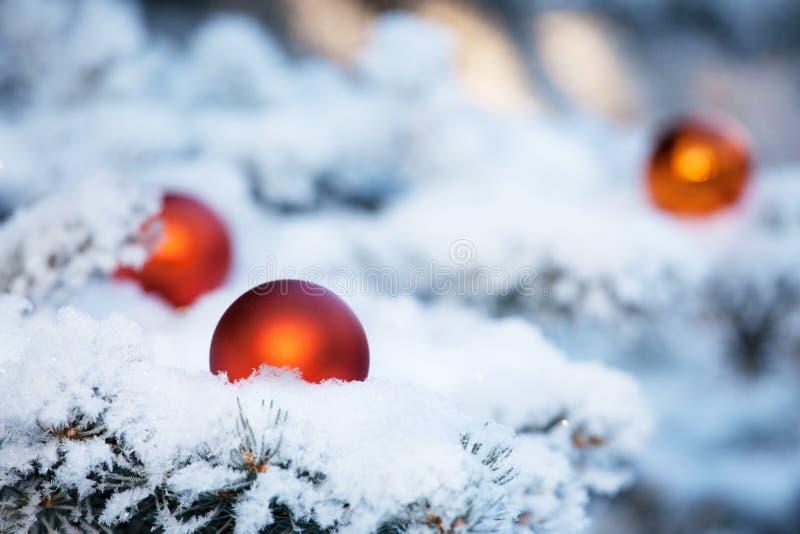 Palla degli ornamenti di Natale immagini stock libere da diritti