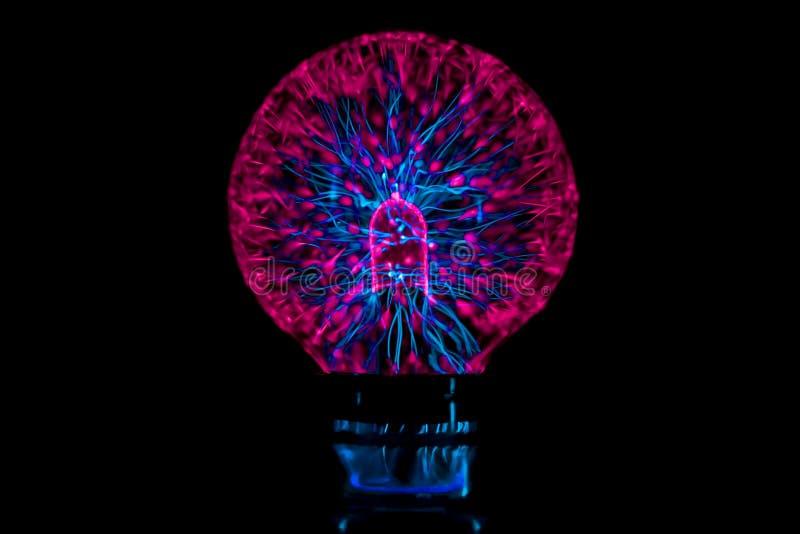 Palla del plasma, astrazione futuristica immagine stock libera da diritti