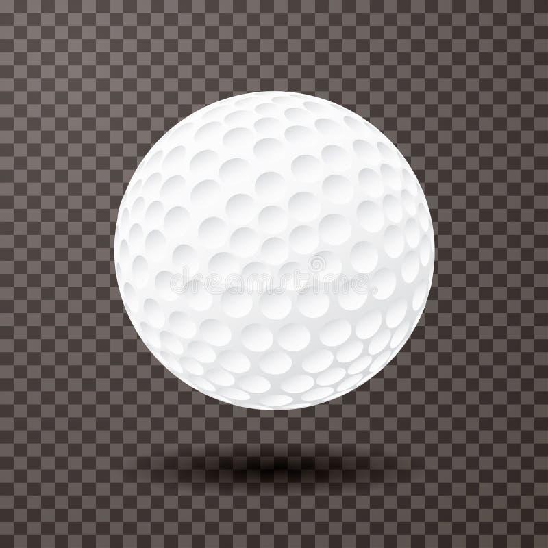 Palla del trasporto di golf royalty illustrazione gratis