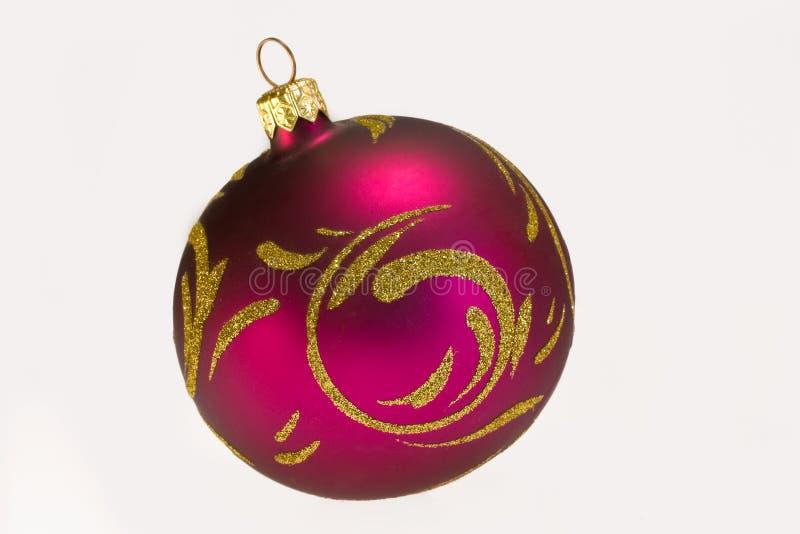 Palla dell'albero di Natale immagini stock libere da diritti