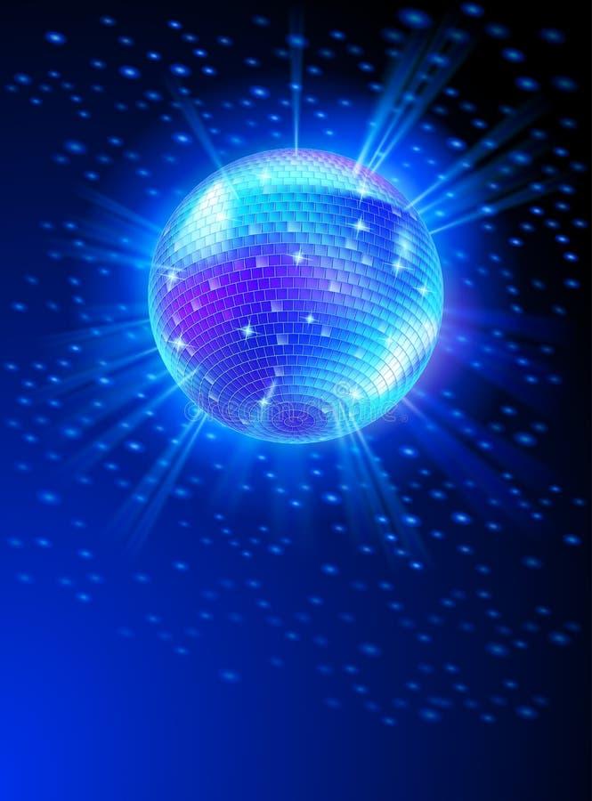 Palla della discoteca dello specchio royalty illustrazione gratis