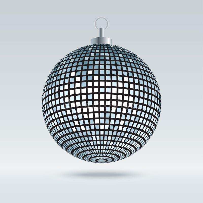 Palla della discoteca dello specchio illustrazione vettoriale