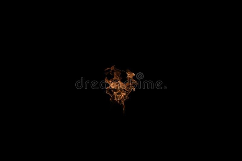 Palla della fiamma del fuoco immagine stock libera da diritti
