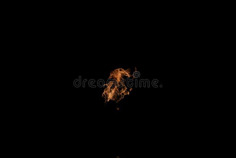 Palla della fiamma del fuoco fotografia stock libera da diritti