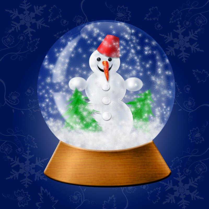 Palla della neve immagini stock libere da diritti