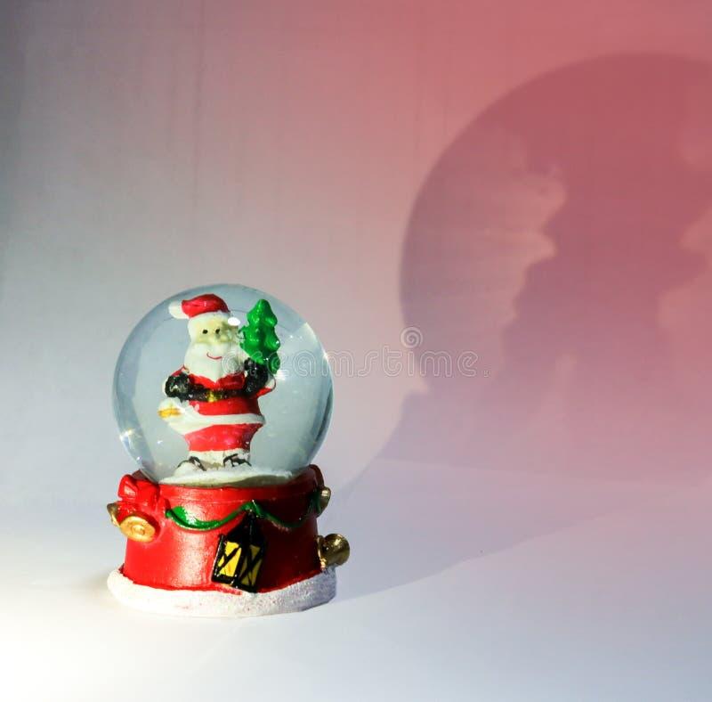 Palla di magia di Natale fotografie stock libere da diritti