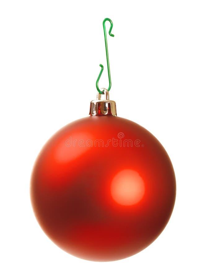 Palla di Natale immagini stock libere da diritti