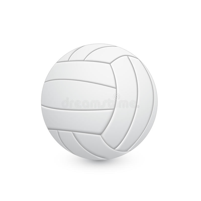 Palla di pallavolo illustrazione di stock