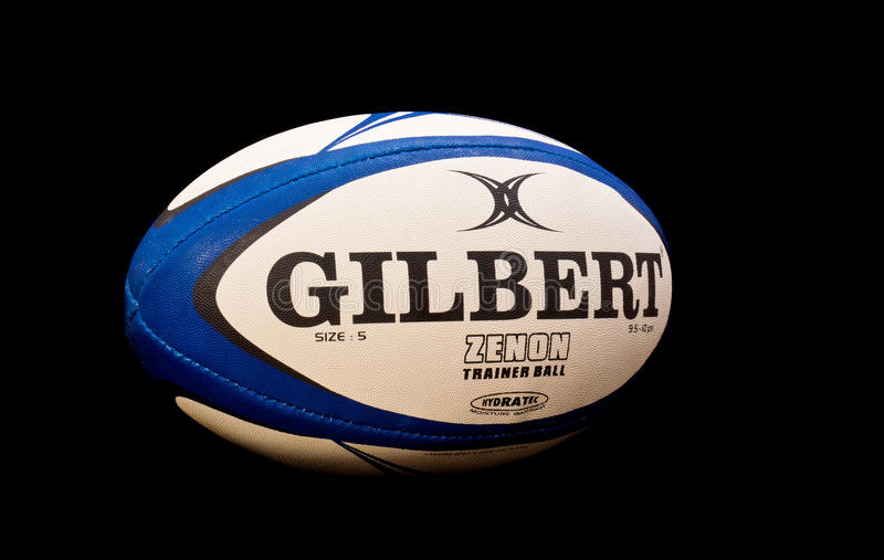 Palla di rugby fotografia stock