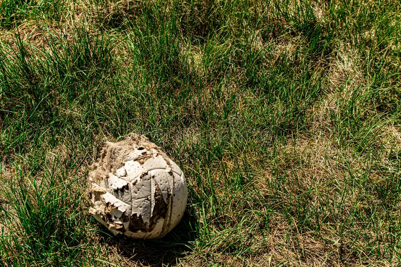 Palla di Wilson Has Been Found Soccer fotografia stock