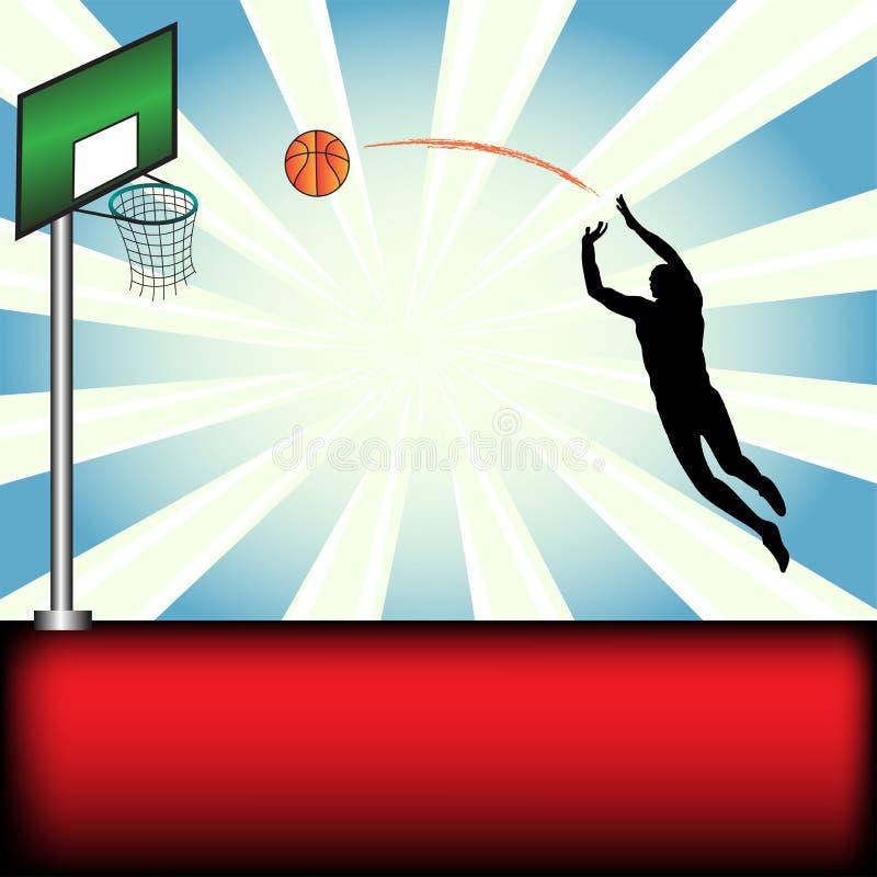 pallacanestro illustrazione vettoriale