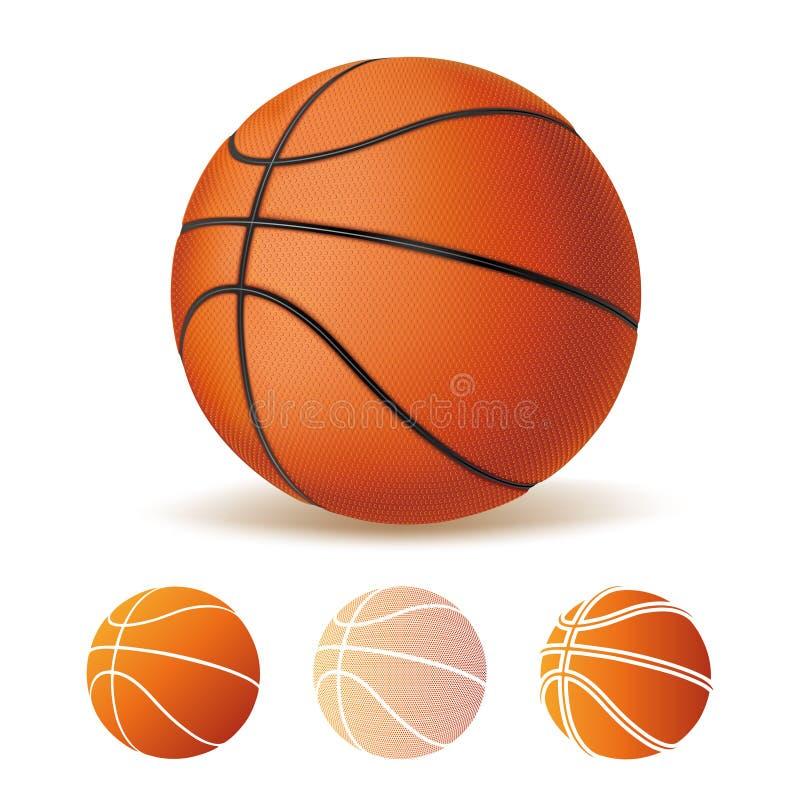 pallacanestro illustrazione di stock