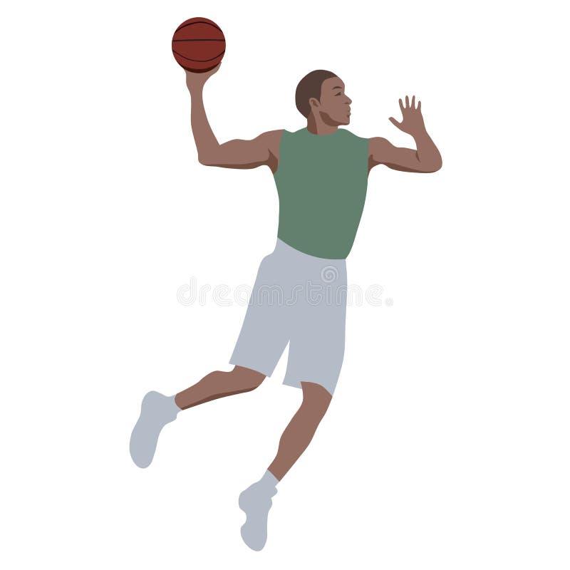 Pallacanestro di sport illustrazione vettoriale