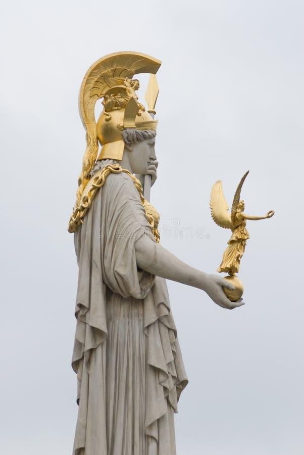 Pallas athena foto de stock royalty free