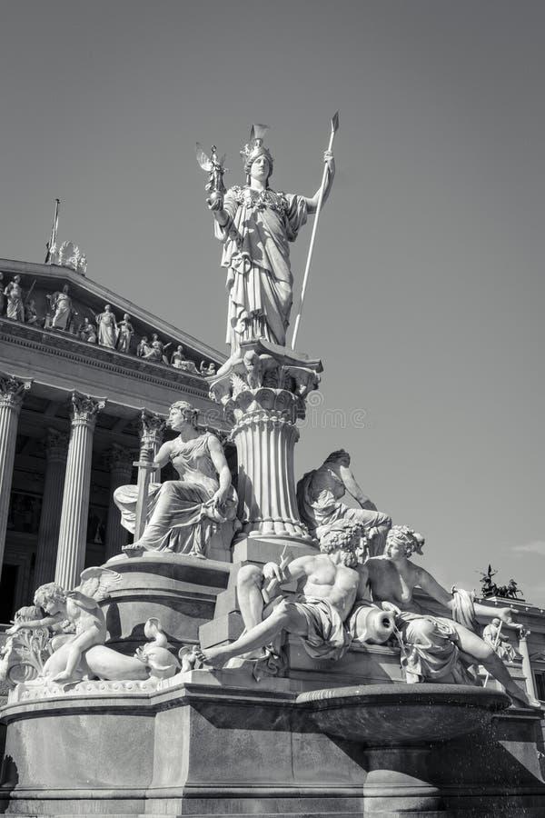 Pallas Athene Fountain image libre de droits