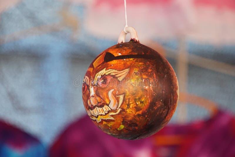 Palle acriliche meravigliosamente dipinte fotografia stock