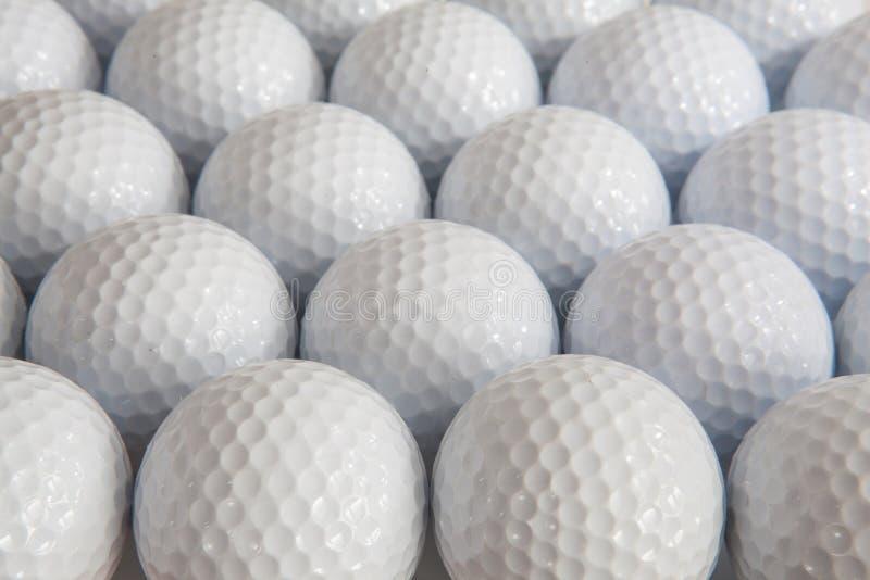 Palle da golf bianche fotografia stock libera da diritti