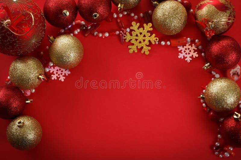 Palle di concetto di Buon Natale, accoglienti immagini stock