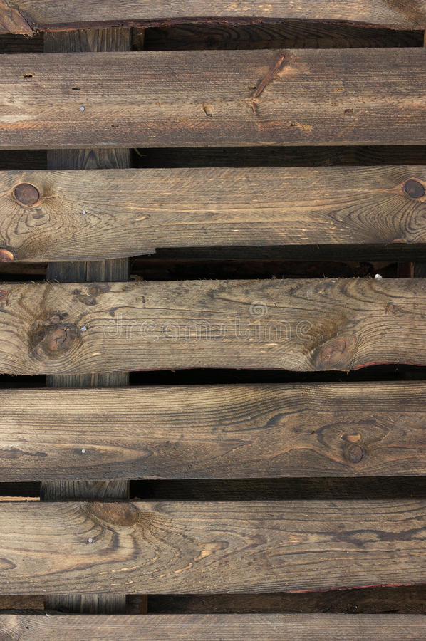 Pallet planks texture. Old weathered pallet planks texture stock photography