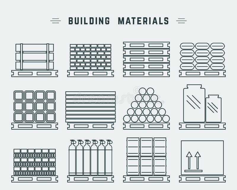 Pallet stock illustration