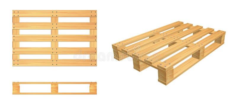 Download Pallet Set Stock Illustration Of Packaging