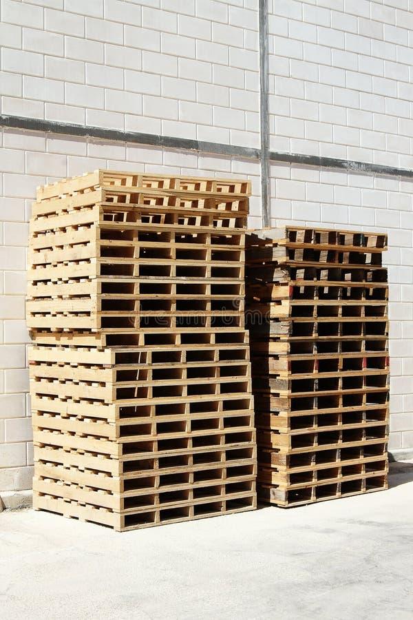 Pallets stock photo