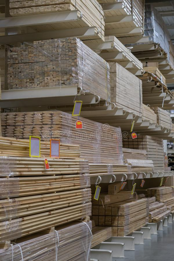 Pallets of wooden boards at do it yourself store stock image image download pallets of wooden boards at do it yourself store stock image image of plywood solutioingenieria Gallery