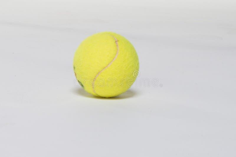 Pallina da tennis fotografia stock