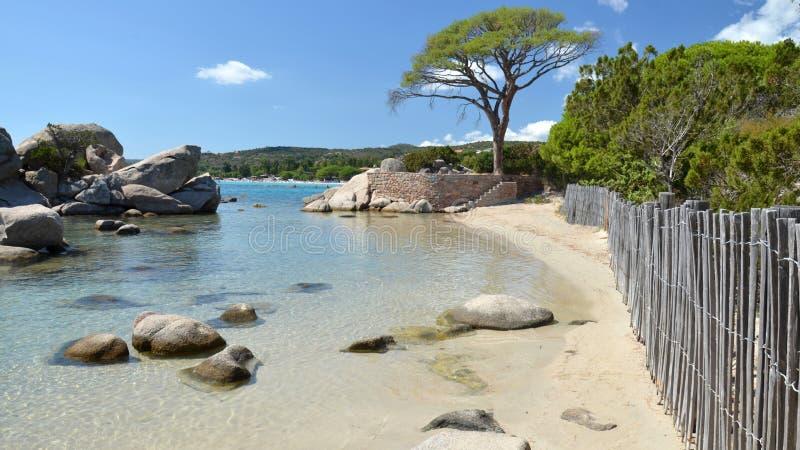 Pallombiagia海滩 免版税库存图片